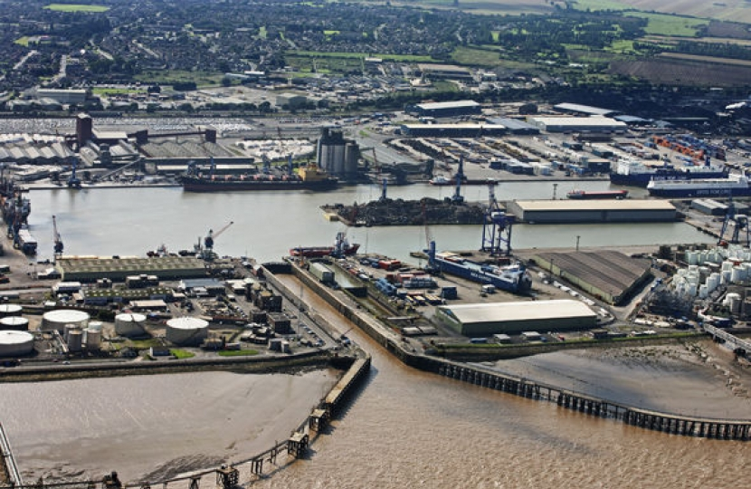 Immingham port
