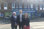 Martin, Steve Barclay MP and Melanie Onn MP
